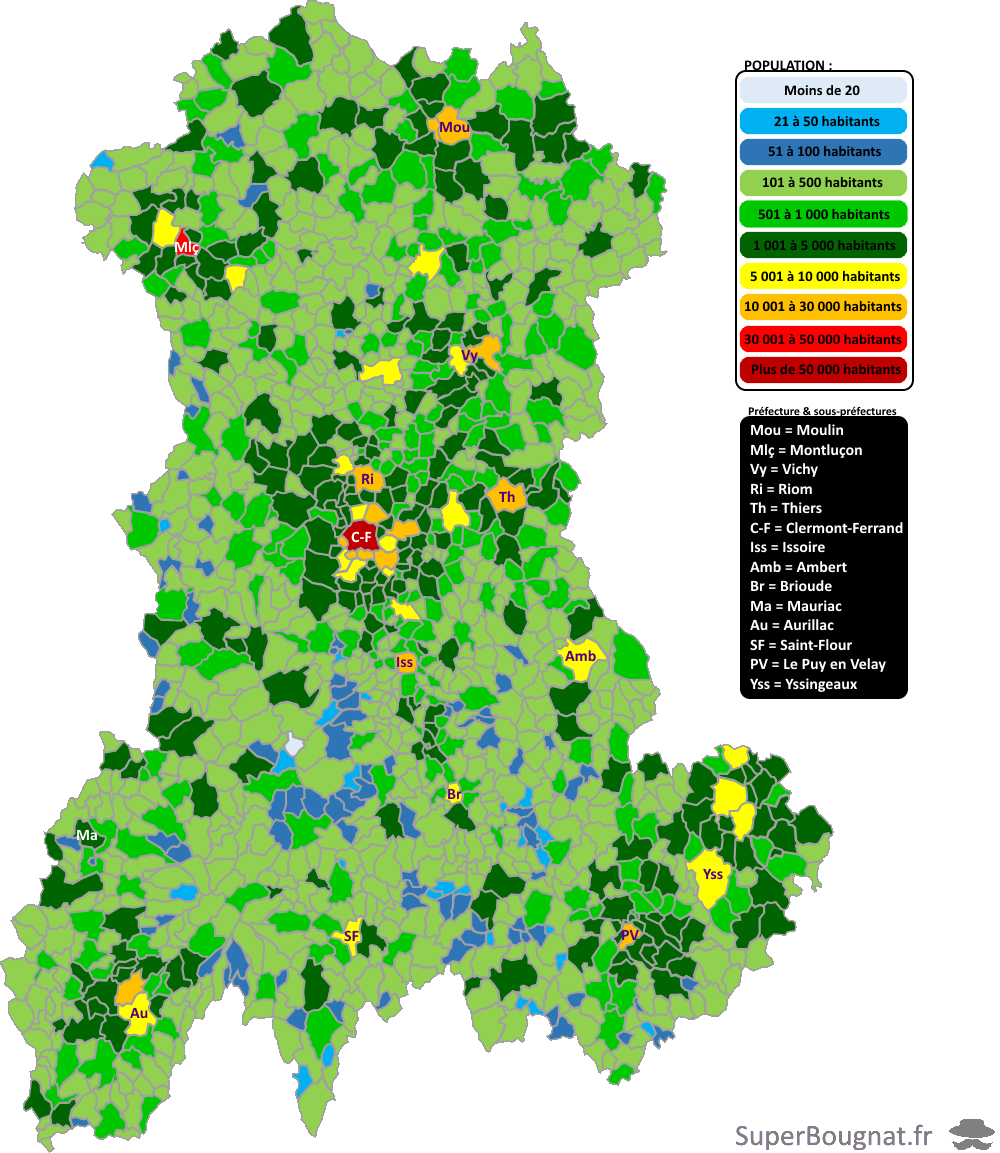 Populations communales