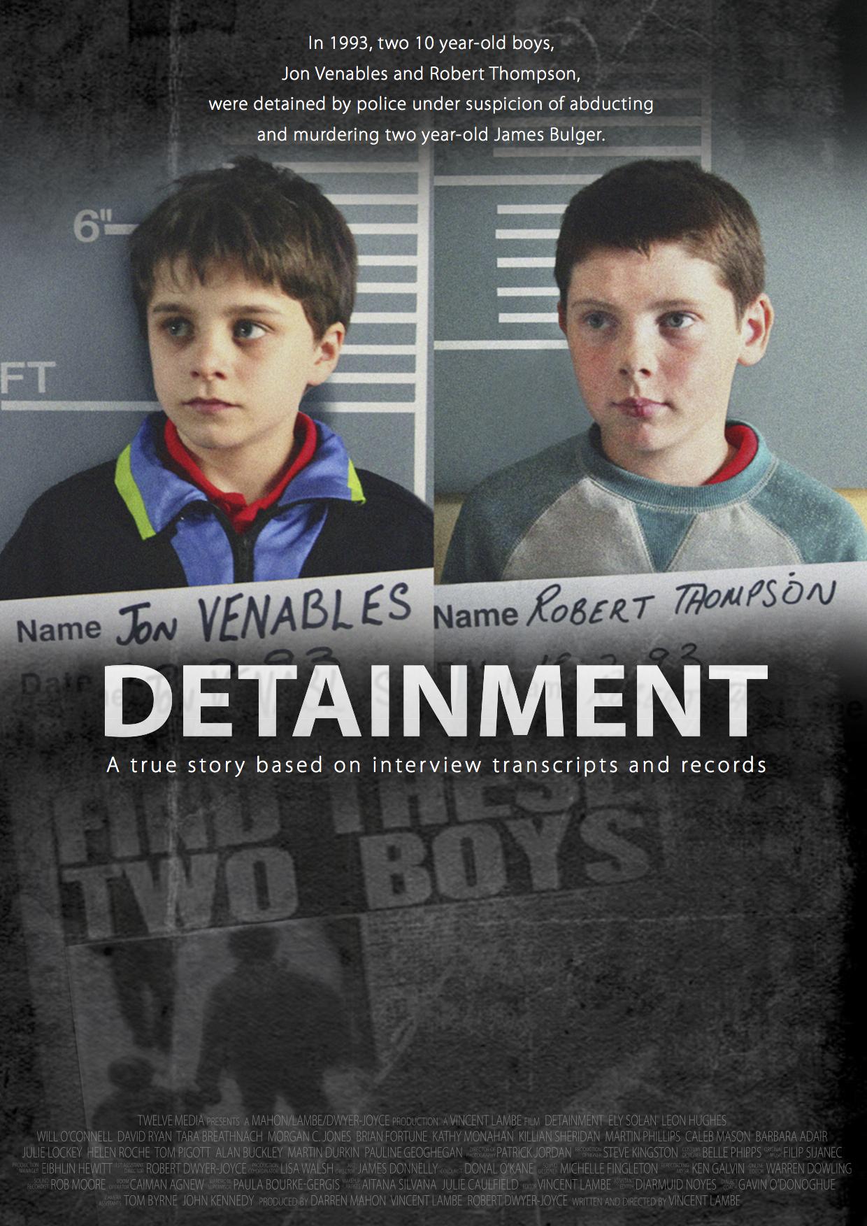 Affiche du court métrage Detainment