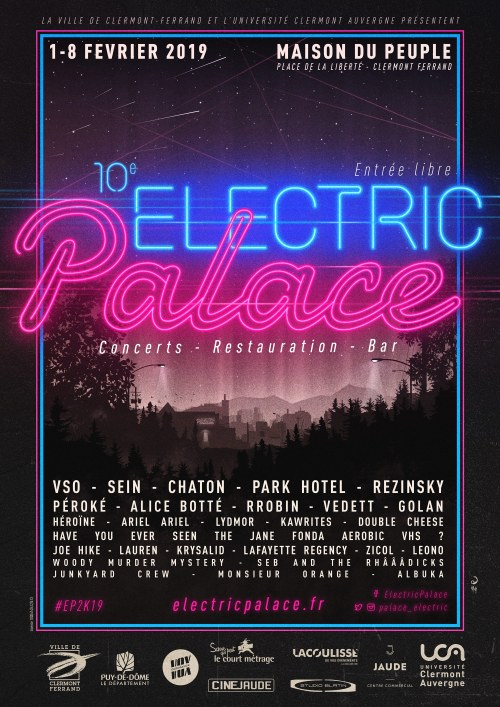 Affiche Electric Palace 2019