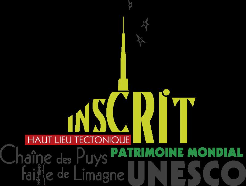 Logo UNESCO Chaîne des Puys et Faille de Limagne