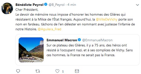 Bénédicte Peryol - Critique Emmanuel Macron